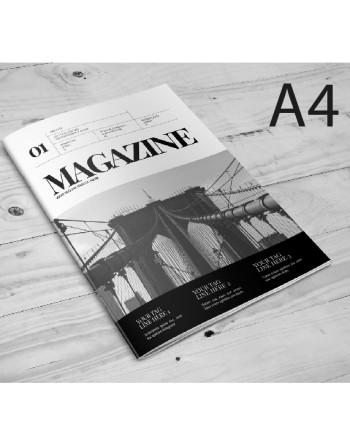 Catálogos A4 - 2 grapas- color