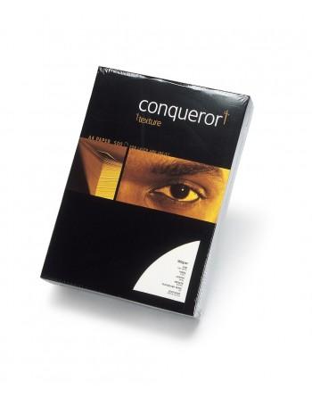 Paquete de 500 Hojas de CONQUEROR VERGE BLANCO LUZ 21x29,7 cm - 100 grs