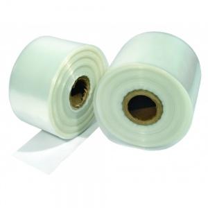 polietileno reciclado transparente en tubo