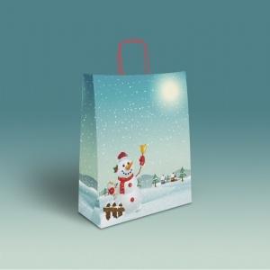 Bolsa muñeco nieve