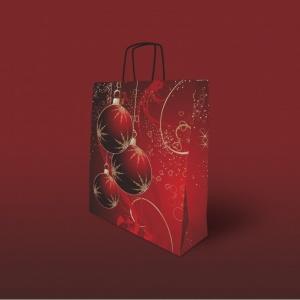 Bolsa clásica navidad