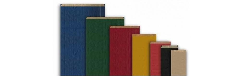 Sobres de colores para regalo