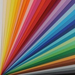 Papel y cartulina color